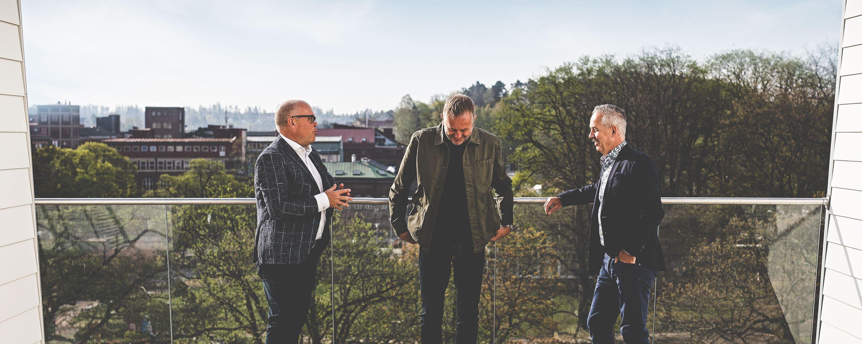 Pallas Invest - Jonas Wollin, Thomas Lantz och Kenth Almqvist